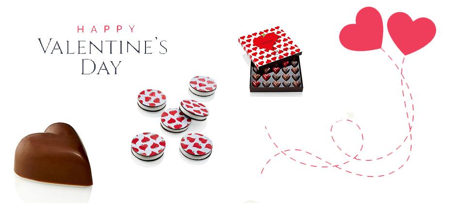 La Saint-Valentin a le Cœur chocolat à la Maison Caffet