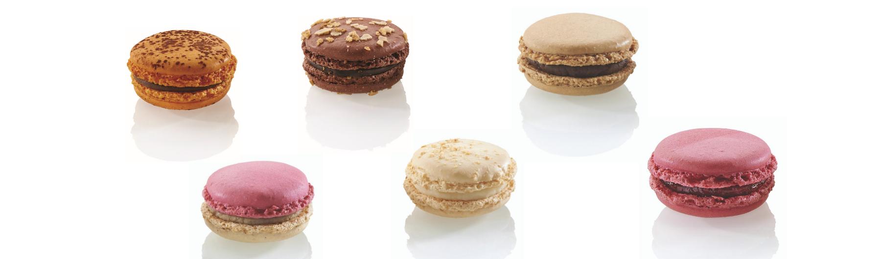 Maison Caffet - Macarons Colorés
